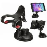 Universal 360 Degree Rotation Big Suction Cup Sucker Car Mount Holder Stand For Cell Phone