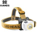 XANES K54 2 In 1 150 Lumens XPE LED Bicycle Head Light Outdoor Sports Bicycle Light 3 Modes Adjustable Headlamp