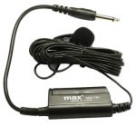 MAX MM-701 Lapel Condenser Microphone with 6m Cable for Instrument Pickup