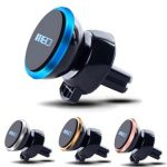 MEIDI Car Air Vent One-Touch Self Lock Magnetic Phone Holder 360 Degrees Rotation Strong Magnet