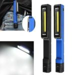 Magnetic LED Work Light Camping Car Inspection Flashlight Pocket Torch Lamp