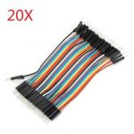 800Pcs 10cm Male To Male Dupont Line Jumper Cable For Arduino