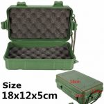 LED Flashlight Tools Green Box For Easy Carrying 18cm x 12cm x 5cm