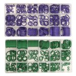 270Pcs R22/R134a Air Conditioning O-Ring Rubber Rings Waterproof Washer
