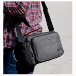 Leisure Men Casual Crossbody Bag Shoulder Bag Ourdoor Sport Bag