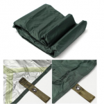 3X3.2m Army Military Car Cover Camping Waterproof Tarp Awning Tent Fishing Shelter Outdoor Beach