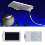 Superbright Solar Power 24 LEDs Street Light Garden Yard Light-controlled Security Wall Lamp