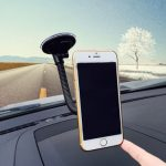 Car Phone Holder Long Arm Phone Mounted Stand Support