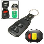 2 Buttons Panic Keyless Entry Remote Key Fob for Hyundai Santa Fe Tucson 315MHz