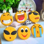Lovely Cartoon Faces Smiling Fridge Magnet Magnetic Sticker Whiteboard Magnet Room Decor Paste