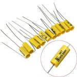 10pcs Axial Capacitor 0.047uF 630V Polyester Film Capacitor Audio Pole MKT473