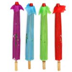 80CM Folk Dancing Umbrella Chinese Traditional Handmade Oiled Paper Umbrellas