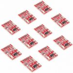 10Pcs 2.5-5.5V TTP223 Capacitive Touch Switch Button Self-Lock Module For Arduino