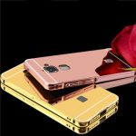 Luxury Plating Frame Mirror Back Case For LeTV LeEco Le Max 2