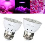 5W E27 72LED 2835 Full Spectrum Grow Light Bulb Hydroponic Veg Plants Lamp