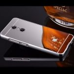 Luxury Plating Frame Mirror Back Cover Case Skin Bumper For Xiaomi Redmi Pro