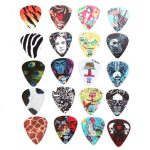 5PCS 0.46mm Kiwi Acoustic Electric Guitar Multi-pattern Celluloid Guitar Picks