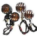 2pcs 12V Amber Motorcycle Turn Signal Indicator Lights Lamp For Harley