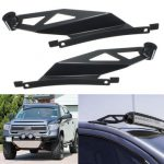 Pair 07-14 Toyota Tundra 50Inch Led Curved Light Bar Roof Mount Brackets