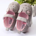 Baby Girl Cute Mouse Soft Sole Crib Shoes Toddler First Walking Shoes