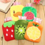 Mini Cartoon Cover Cold Hot Heat Warm Water Bottle Body Relaxing Home Necessary