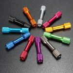 10Pcs M3 35mm Knurled Standoff Aluminum Alloy Multi Color