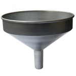 Stainless Steel Metal Funnel With Filter Screen For Ship Supplies