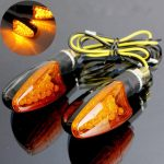 Universal 12V 14LED Motorcycle Turn Signal Indicator Light Short Handle