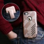 Floveme Hard PC Soft Silicone Detachable Belt Clip Full Body Shockproof Case For iPhone 7/7 Plus