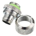 3/8 Computer Water Cooling Compression Fitting For 9.5X12.7 Tubing Pipe