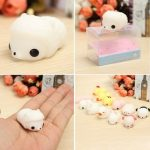 Sheep Squishy Squeeze Cute Healing Toy 4 3 2.5cm Kawaii Collection Stress Reliever Gift Decor