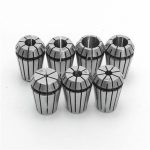 7pcs ER20 Chuck Collet 1/8 to 1/2 Inch Spring Collet Set For CNC Milling Lathe Tool