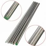 500mm M3 to M12 Stainless Steel Threaded Rod Screw Rod