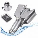 Manual Nose Face Ear Hair Trimmer Removal Cutting Clipper Stainless Steel
