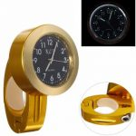 7/8inch 1inch Handlebar CNC Dial Clock Watch Motorcycle Bike Universial