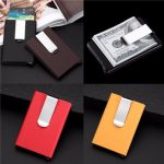 Fashion Aluminum Slim ID Credit Card Protector Holder Purse Wallet Secure