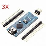 3Pcs Geekcreit ATmega328P Nano V3 Controller Board Compatible Arduino Improved Version