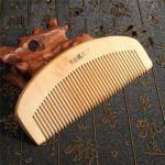 Sandalwood Comb Anti Static Hair Wooden Brush Wide Tooth