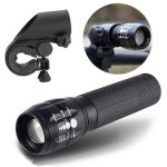 Q5 240Lumens 3Modes Outdoor Bicycle LED Flashlight Mount For 18650/AAA