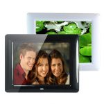 8 Inch HD TFT-LCD Digital Movies Frame MP3 MP4 Player Remote Control