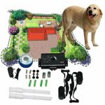 Underground Electric Dog Pet Invisible Fencing Fence Shock Collar