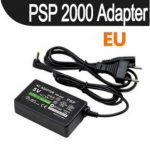 EU PLUG Console Power Adapter Charger For PSP 1000 2000