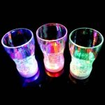 6 LED Light Color Flashing Beer Mug Drink Cup For Party Decorative