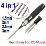 4 In 1 Hex Driver Screw Tools Set For RC Model