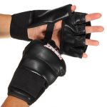 Ultimate Fight Mitts Half-finger Fitness Boxing Gloves Punch Bag