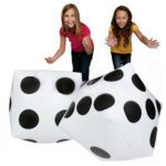 Plastic Inflatable Dice Balloon Pool Party Toys Room Decration