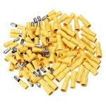 100pcs Male Female Insulated Wire Bullet Crimp Connector Terminal