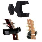 Aroma AH-81 Guitar Stand Wall Hanger Holder Rack Hook Black