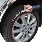 Auto Car Tire Tyre Marker Paint Pen Waterproof White Universal