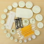13 Sets Fondant Cake Decorating Set Fondant Plunger Cutters